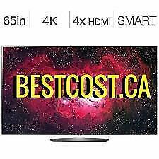 Télévision OLED 65'' POUCE OLED65B7P 4K ULTRA UHD HDR WebOS 3.5 Smart WI-FI LG - BESTCOST.CA
