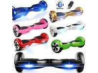 Led 2018 free carry case bag hoverboard swegway electric scooter balance board