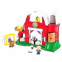Fisher Price Little People Farm- Like New