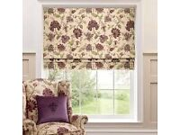 Dorma Bloomsbury Luxurious Fully Lined Roman Blinds x 6 Various Sizes - £140 ovno - New/Boxed