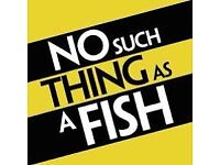2 tickets No such thing as a fish Queen's Hall Edinburgh Saturday 17th March