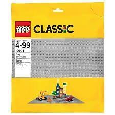 LEGO CLASSIC GRAY BASEPLATE code 10701
