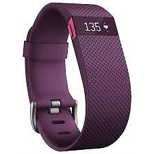 FITBIT charge HR PLUM Small