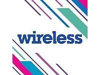 1x wireless Friday Saturday ticket