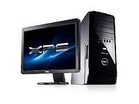 """Dell XPS 430 Quad Core - MINECRAFT - FAR CRY Cad -Adobe - -Desktop Computer PC With Dell 21"""""""