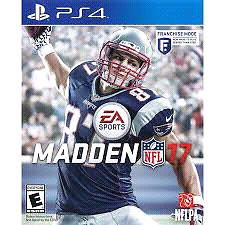 Madden 17 Brand New Sealed for Ps4
