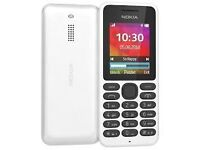 Nokia 130 Unlocked - Brand New - Factory Sealed Box