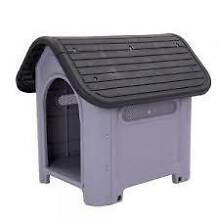 Dog Kennel--Plastic--suit Small--Medium sized dog--Good Condition Singleton Rockingham Area Preview