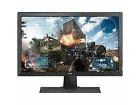 AOC 24 inch 1 ms Response LED Monitor, HDMI, DVI, VGA, Speakers, Vesa E2460SH AOC 3 year Warranty