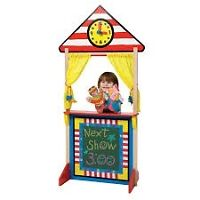 Little tikes puppet stand