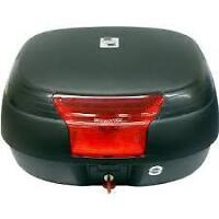 Like new GIVI storage Box with support mounting racks