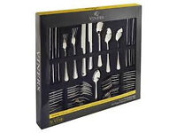 Bargain Brand NEW Clearance Reduced Viners 18/10 Stainless Steel 44 Piece Cutlery SmokePet Free Home