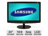 "Samsung syncmaster B2430 24"" 1080P"