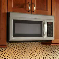 Stainless Steel, Over the Range Microwave- Brand New