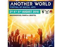 Another World Festival full wknd ticket!