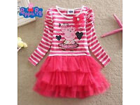 PEPPA PIG PARTY TUTU DRESS AGE 3 - 4 YEARS