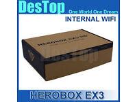 herobox ex4 skybox openbox wd 12 month gift internal wifi
