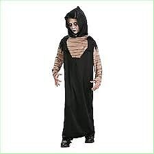 BOYS HORROR ROBE FANCY DRESS OUTFIT AGE 5/7 YEARS NEW GREAT FOR HALLOWEEN