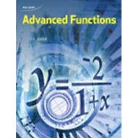 Grade 12 Advanced Functions Tutoring for SUMMER SCHOOL