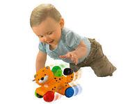 Fisher Price Amazing Animals Press & Go Cheetah Baby Boy Girl Toy