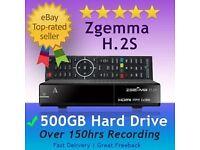Zgemma h.2s satalite receiver