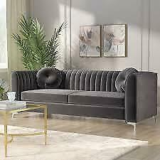 Willa Arlo Interiors Herbert Chesterfield Sofa and Loveseat NEW **SPRING BLOW OUT SALE ** 5 CORNERS FURNITURE **