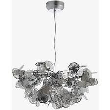Crystalline metal chandelier ceiling light designed by claire crystalline metal chandelier ceiling light designed by claire norcross exclusively for habitat mozeypictures Image collections