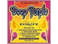 Deep Purple Final Tour 2 Tickets in London 23rd November