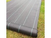 Pro Tec 100gram Weed control membrane 1.2m. New. 2 rolls. One 25m and 50m