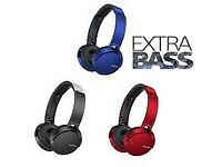 Sony EXTRA BASS XB650BT Wireless Over Ear Headphones (BLACK)
