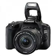 UK Canon EOS 200D Camera with 18-55mm STM Lens