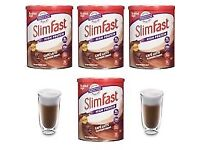 SlimFast High Protein Chunky Chocolate Flavour Powder 4 x 450g for only £20 (Store price £45)