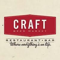 Hiring Servers & Bartenders at Craft Beer Market