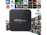 NO ADDONS OR EXTRAS only mxq android tv boxes nt skybox