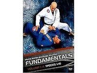 Gracie barra fundamentals instructional dvds - bjj brazilian jiu jitsu - POSTAGE AVAILABLE ufc mma