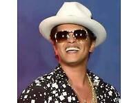 Bruno Mars Glasgow Green Tickets x 2