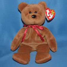 Teddy New Face Brown the bear Ty Beanie Baby stuffed animal Kitchener / Waterloo Kitchener Area image 1