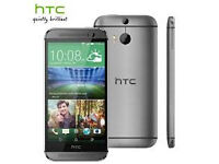 Unlocked HTC One M8 Mobile Phone - Grey