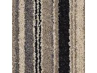 JJBILEE stripey carpet ideal for stairs 4meters x 1.23m or 13ft 4.03ft x