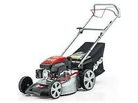 Alko 18 inch power drive lawnmower lawn mower