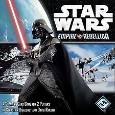 Fantasy Flight Star Wars Empire vs Rebellion Card Game Brand new