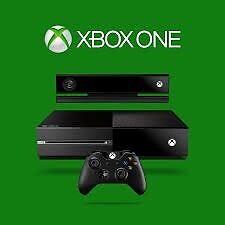 Xbox one W/ 4 games