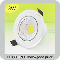 LED 3W NEW White Dimmable