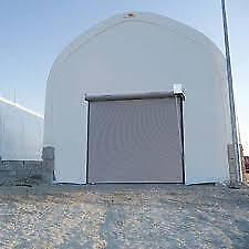 New White 12' x 14' Quansett Roll-up Door