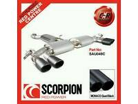 AUDI S3 SALOON Scorpion exhaust backbox