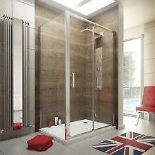 Full Bathroom Shower Enclosure. Door, Side Panel, Tray & Waste.