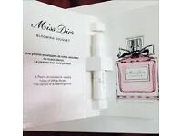 Miss Dior absolutely blooming eau de parfum sample beauty 1.5ml travel size