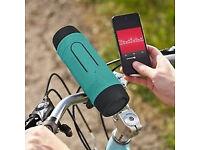 Bluetooth Speaker Power Bank Micro SD Card Slot, AUX Input, FM Radio, Flashlight, Michrophone