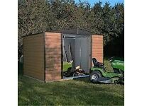 Brand new in box 10 X 8 woodvale metal shed