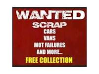 We want scrap for cash!!!! 07925455734
